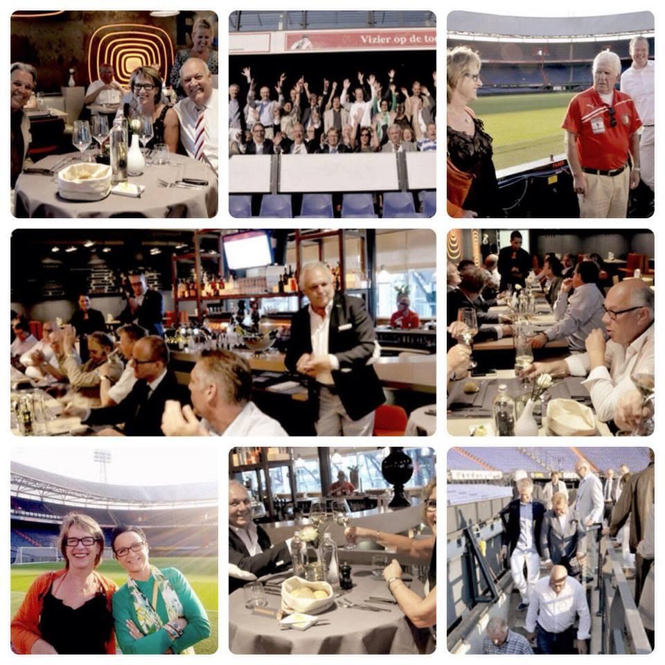 ENC - bezoek Feyenoord